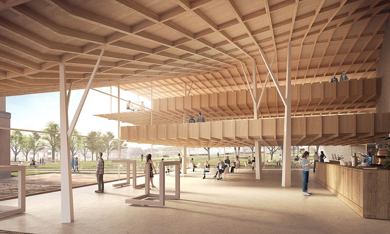 Arriola Fiol Arquitectes — Place Perdtemps Library, Nyon (CH)