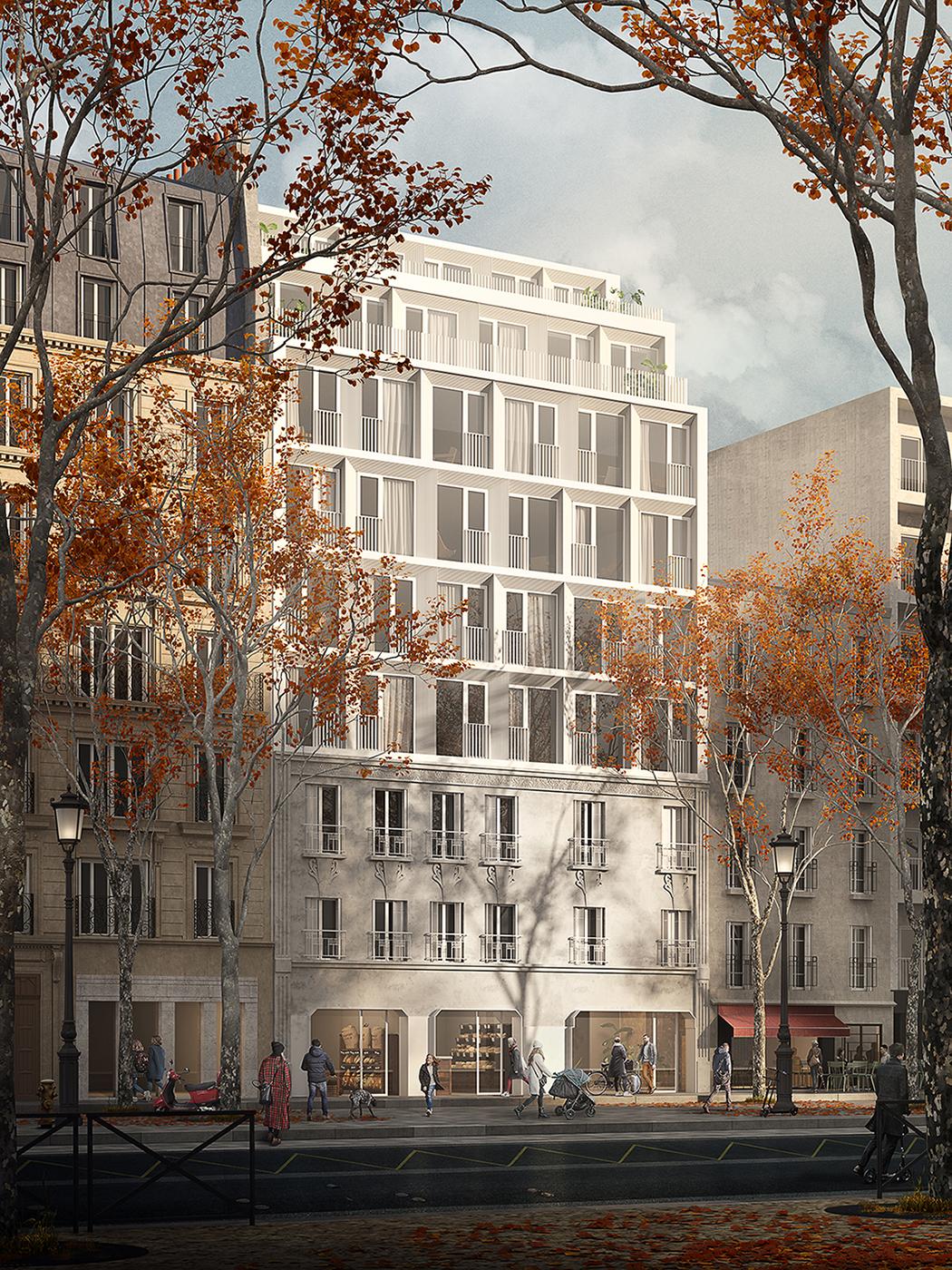 Atelier Deux Points — Housing in Paris (FR)