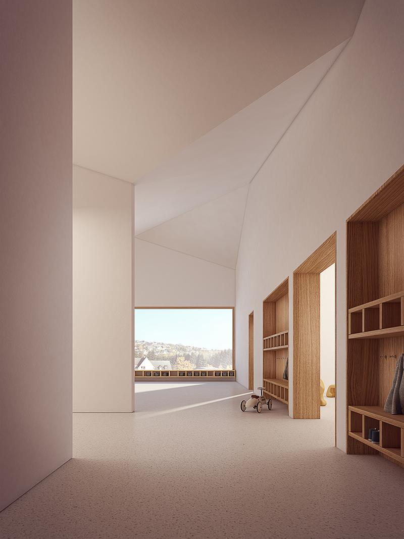 Ulli Heckmann Architekt — Kindergarten in Hirschberg (DE)