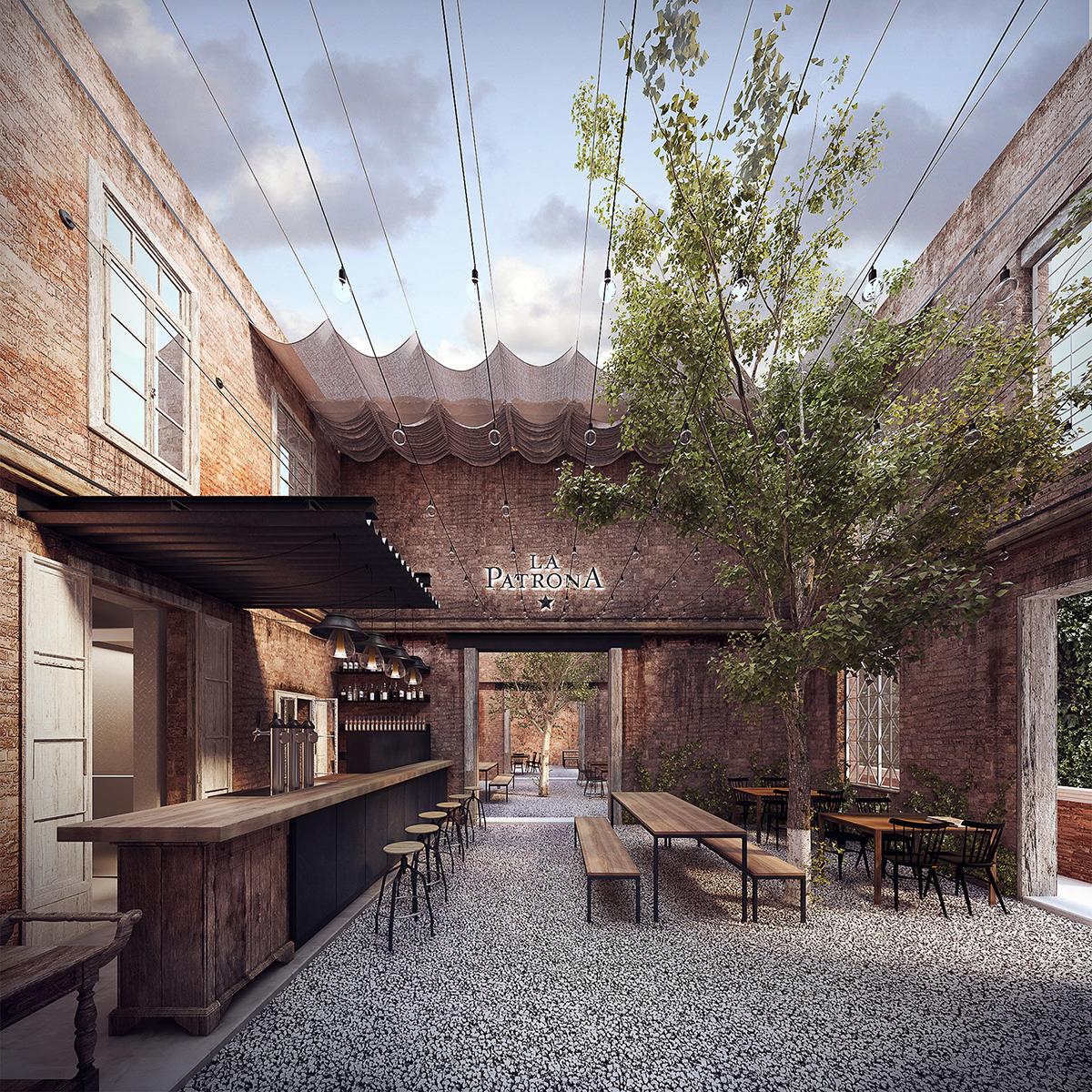AB Arquitectos — La Patrona Brewery, Ciudad de México