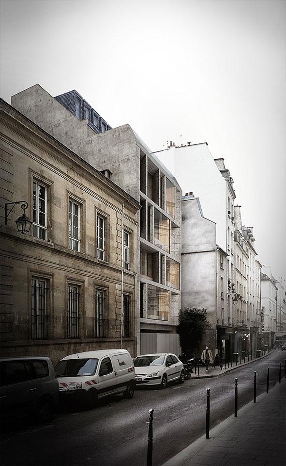 Jacques Moussafir Architectes — Offices in Paris (FR)