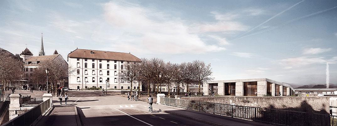 Clavien Rossier Architectes — Bastion Saint Antoine. Genève (CH)