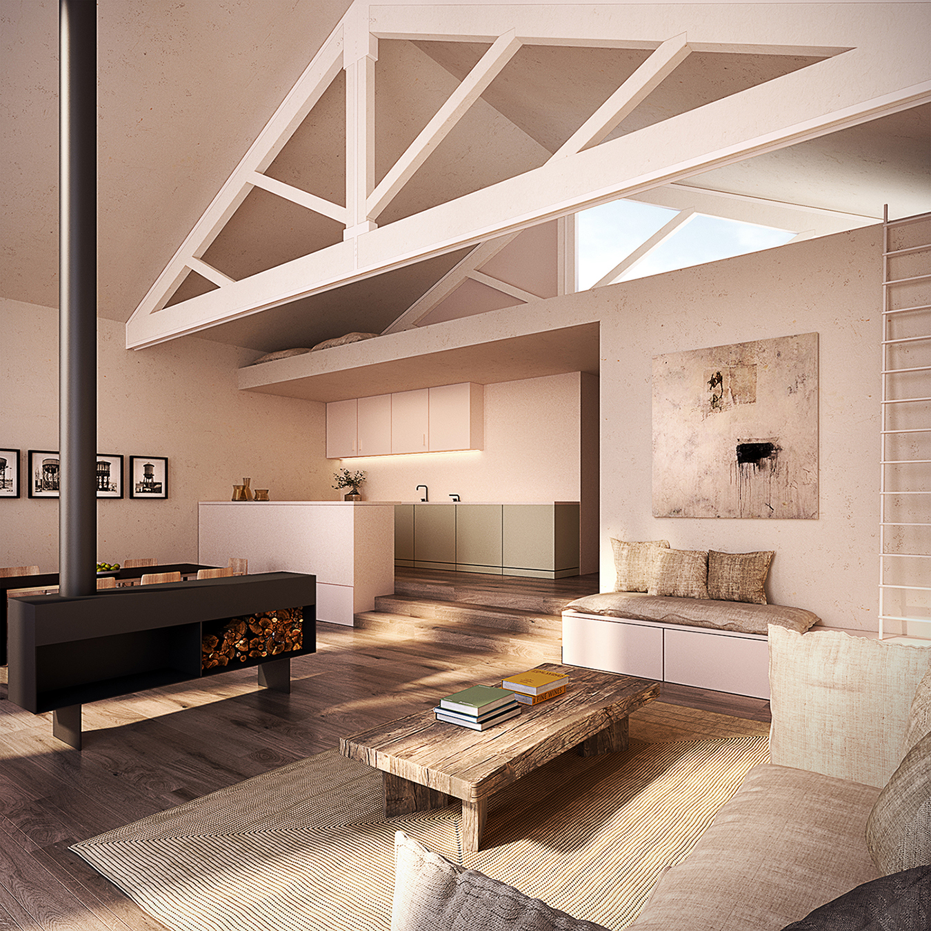 WIT Architects — Loft in Poblenou, Barcelona (ES)